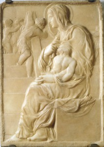 Buonarotti-Madonna della scala -c 1490