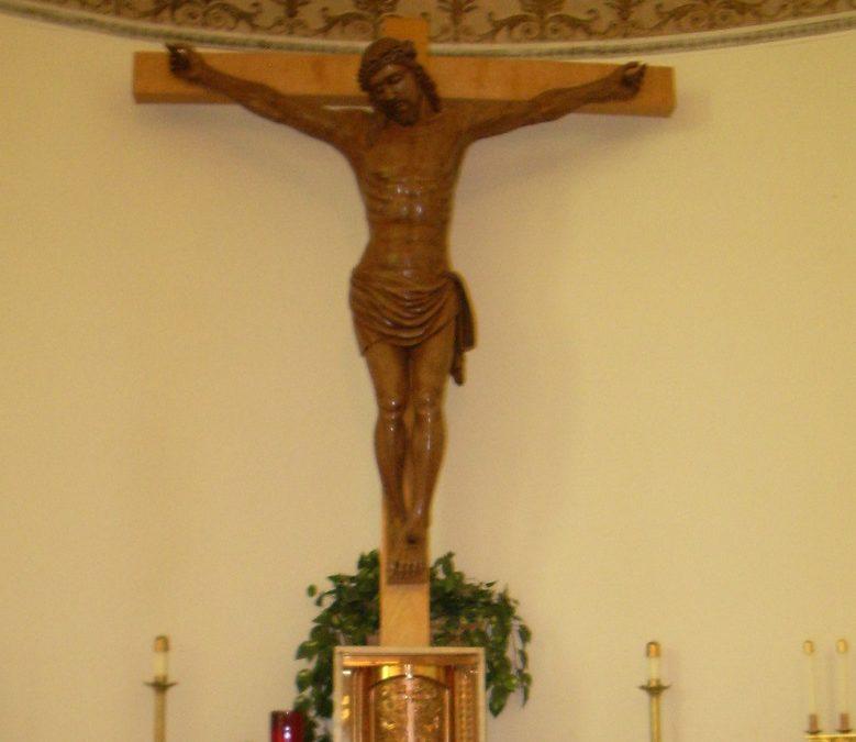 Crucifix or Cross?